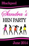 Hen Party Wine Label Design 1